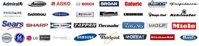 We repair all make and models of home appliances